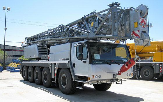 Liebherr Crane Silver